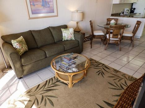 Living Area - SeaWin 105 - Sea Winds - Marco Island - rentals