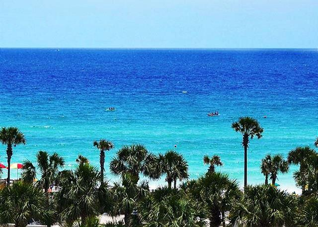 A BEAUTIFUL VIEW OF THE GULF FROM HERE! - PLATINUM RATED CONDO! JUST RENOVATED! OPEN 6/1 - 6! CALL FOR SPECIAL RATE! - Destin - rentals