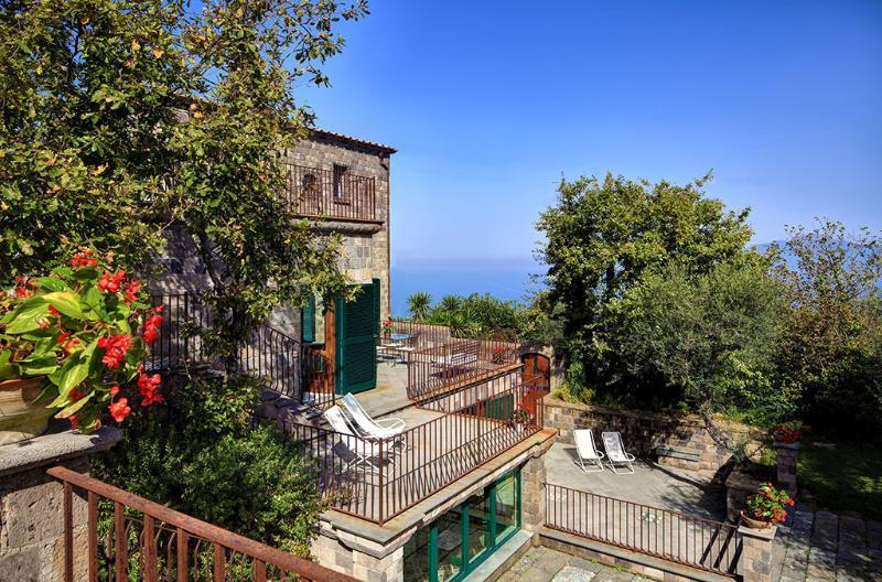 Arial View - Villa Vesuvio - Views, Tranquility, Style - Massa Lubrense - rentals