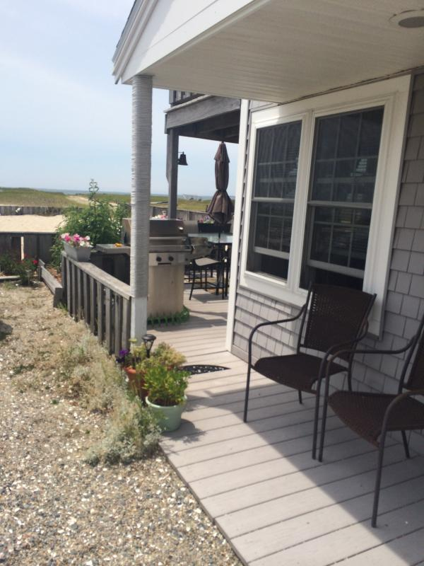 Front looking toward the bay - Summer weeks still available! - Truro - rentals