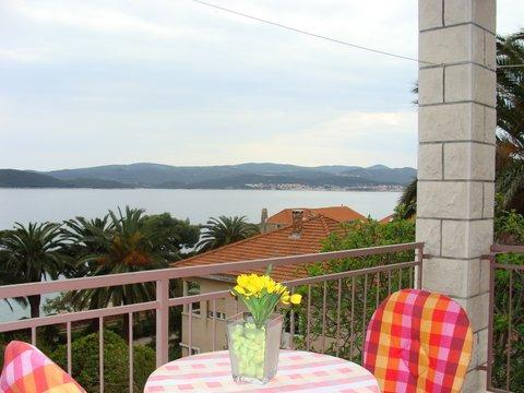 A4(2+1): terrace - 01017OREB A4(2+1) - Orebic - Orebic - rentals