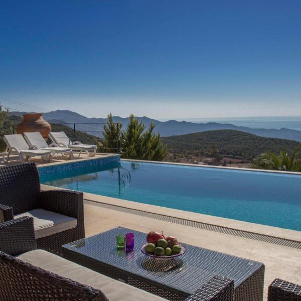 Sitting on top of the World - Rustic Luxury-Yenikoy Villas-Pvt Pools & SeaViews - Kas - rentals