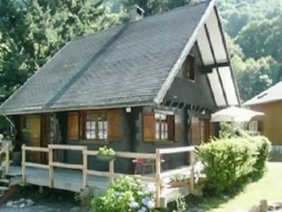 In the heart of the Pyrenees, beautiful chalet with 2 bedrooms and terrace - Image 1 - Sainte-Marie-de-Campan - rentals