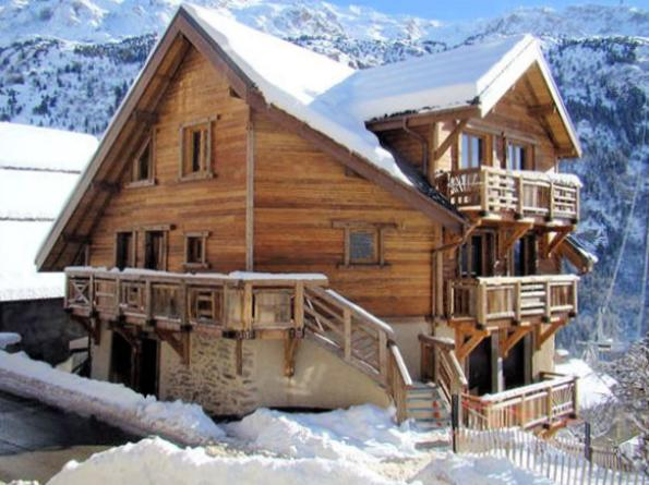 Les Cimes – idyllic apartment in Vaujany, nestled in mountains! - Image 1 - Vaujany - rentals