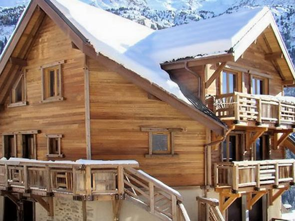 L'Étendard – gorgeous chalet-style apartment in Vaujany for 8 people - Image 1 - Vaujany - rentals