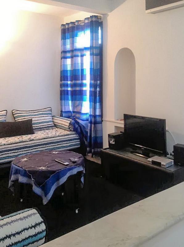 Apartment in Agadir with 1 bedroom, facing the sea - Image 1 - Agadir - rentals