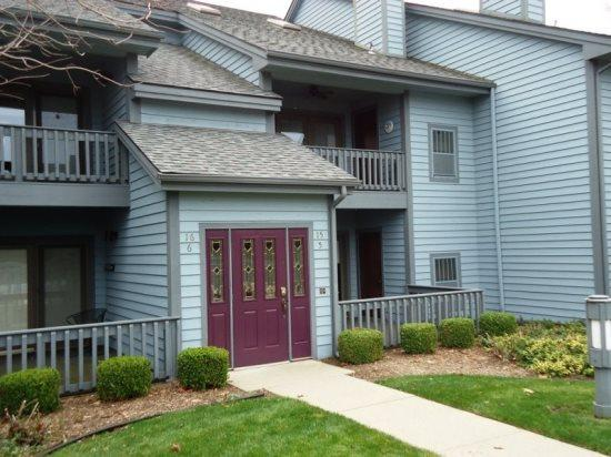 Front of Condo - Cannery Row 5 - South Haven - rentals