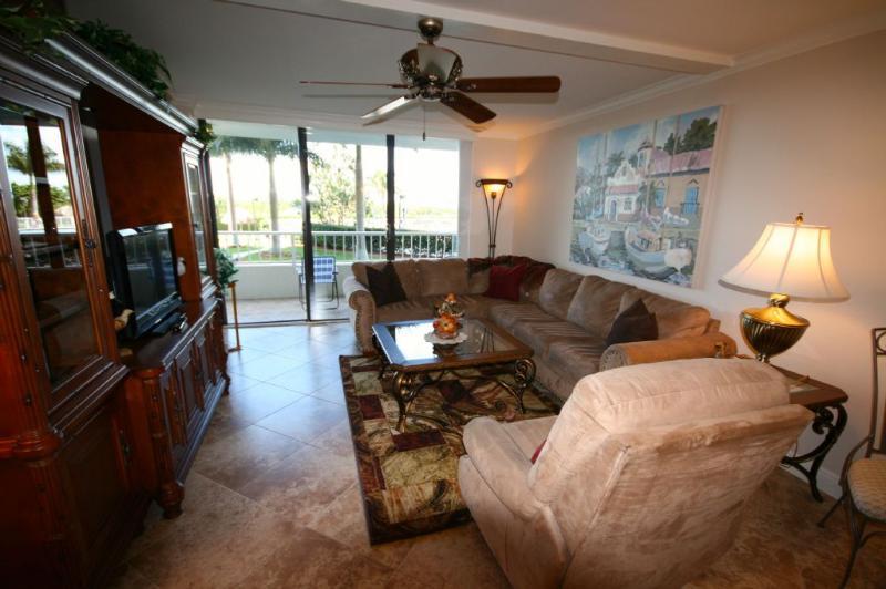 Living Room - SS3 102 - Marco Island - rentals