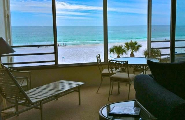 Luxury apartment 280 ft. to beautiful Crescent Beach- 8 South - Image 1 - Siesta Key - rentals