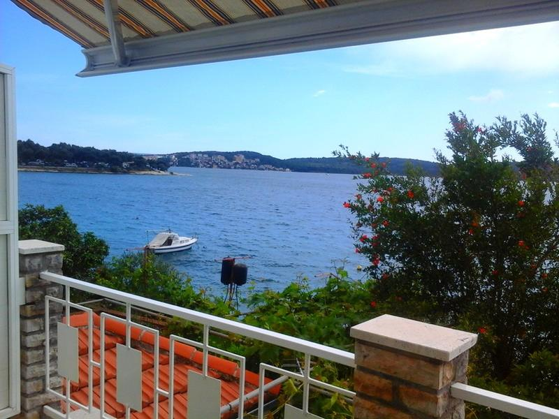A2(4): terrace view - 04407TROG  A2(4) - Trogir - Trogir - rentals