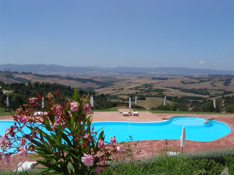 Panoramic swimming pool - Outstanding Hilltop View from 3 Bedroom in Countryside - Montaione - rentals