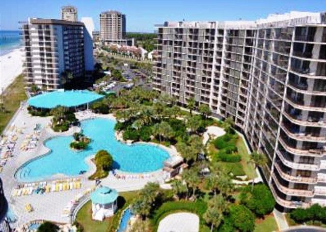 Beachfront for 4 with Beach and Pool Views, Open Week of 3/14 - Image 1 - Panama City Beach - rentals