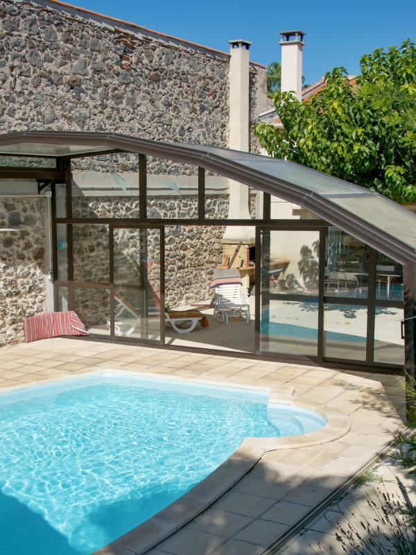 """Green Apartment"", charming Marseillan getaway with shared garden and pool - sleeps 5 - Image 1 - Marseillan - rentals"