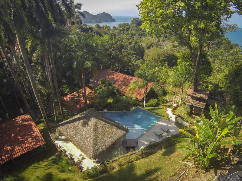 The gorgeous and lush Casa Colibri - Ocean View Pool! MAY special $2800 per week! - Manuel Antonio National Park - rentals