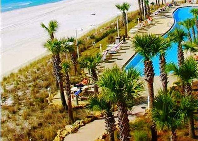 Beachfront and Beautiful Corner Unit, Open Week of 4/11 - Image 1 - Panama City Beach - rentals