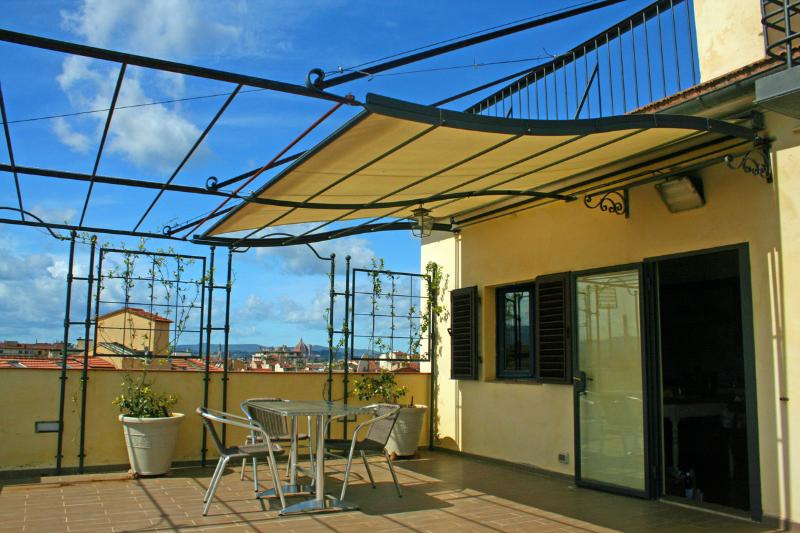 2 BIG, Private, Panoramic, Tier TERRACES at yout disposal - SOMETHING SPECIAL!!! SPECTACULAR VIEWS AT 360° - Florence - rentals