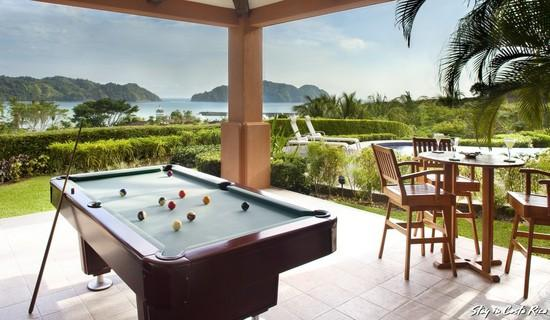 Terrace and Pool Table - Los Suenos Resort Terrazas 1A - Herradura - rentals