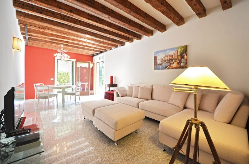 living room of the Palladio Garden apartment in Venice - Palladio Garden - Venice - rentals