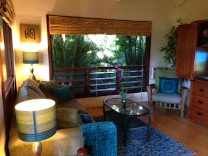 Cottage in Maui living room - Two Cozy Cottage Get-Aways - Kihei - rentals