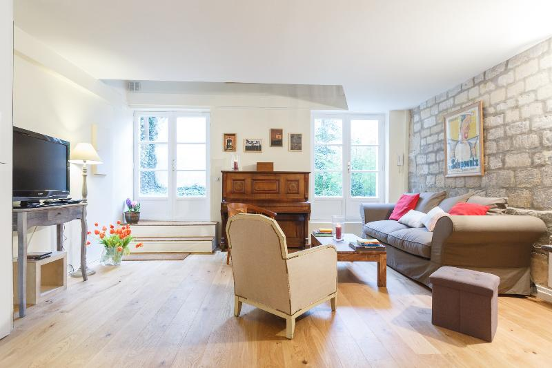 Living room - Parc Royal - Paris - rentals