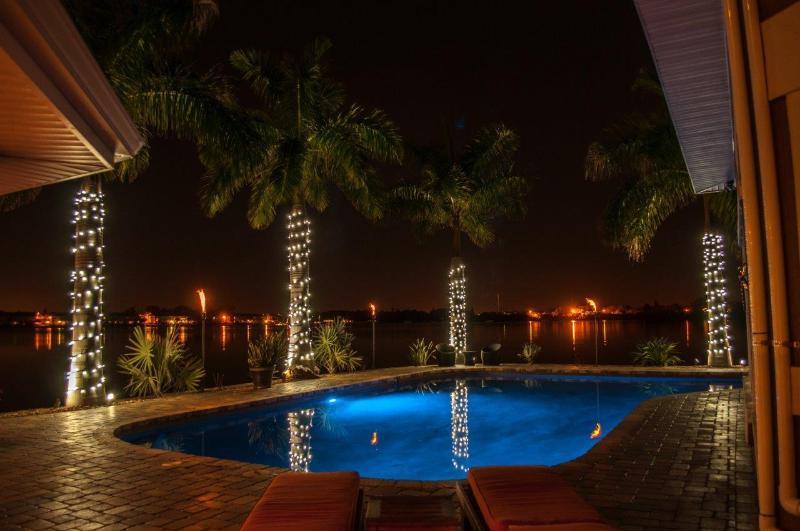 Magical Back Yard! - 7 bedroom/ 7 bath Waterfront Mansion  private pool - Saint Petersburg - rentals