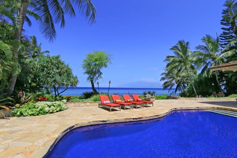 Kahana Seaside Villa Luxury Maui Villa, sleeps 11 - Image 1 - Ka'anapali - rentals
