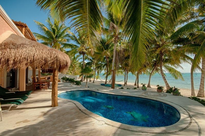 Casa Rosa; Tulum Tankah Most Exquisite Beach &Pool - Image 1 - Tulum - rentals