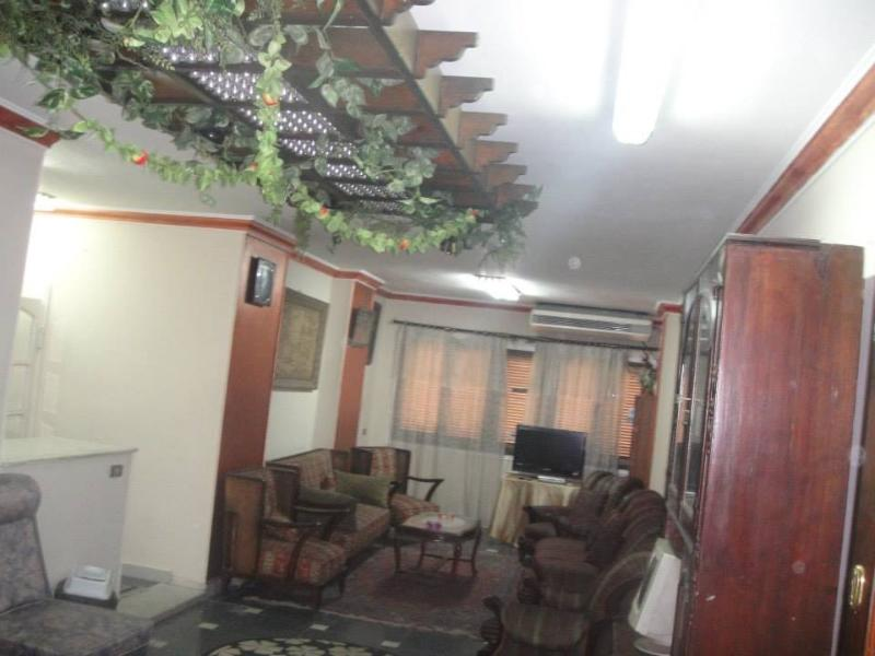 Reception01 - Two-Bedroom Apartment at Mohandeseen Cairo - Giza - rentals