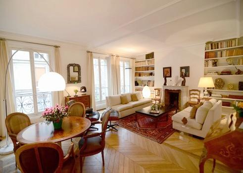 Living room - Vacation Rental in Paris Near Eiffel Tower - Paris - rentals