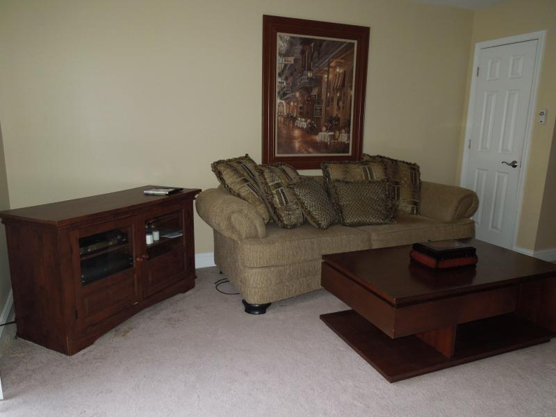 Our living room - Furnished 2-bedroom across from beach - Biloxi - rentals
