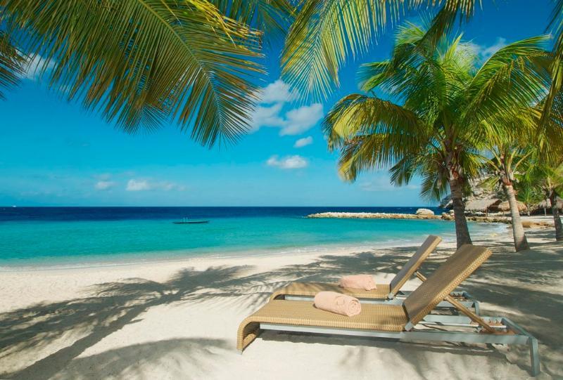 Beautiful Blue Bay beach - Villa Blue Bay (no Bolivares or cash) - Willemstad - rentals