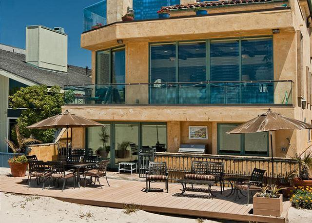 Oceanfront Tuscan villa on the sand at Hollywood Beach!! - Image 1 - Oxnard - rentals