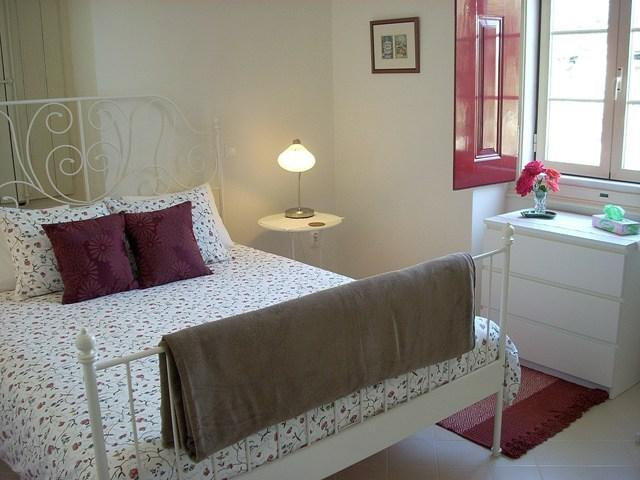 You'll be comfortable in the spacious bedroom with large double bed and en-suite bathroom - B&B in country house w/vineyard, Serra São Mamede - Portalegre - rentals