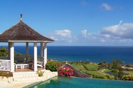 Ocean view No Le Hace at Tryall club- fully staffed with infinity pool, near beach & golf - Image 1 - Montego Bay - rentals