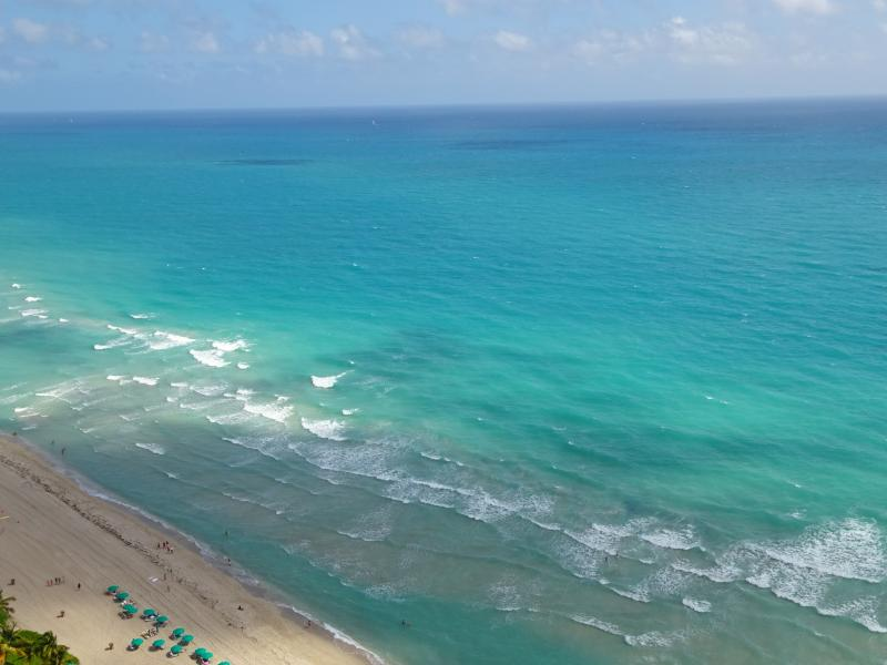 OCEAN, OCEAN, OCEAN! SPECTACULAR VIEWS! - LUXURY OCEANFRONT/HIGH FLOOR/SLEEPS 6/LARGE CONDO - Sunny Isles Beach - rentals