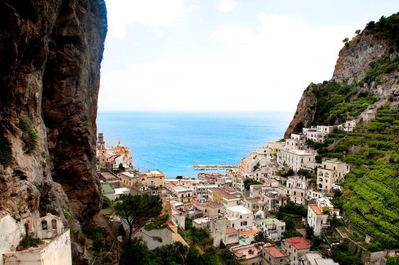 View - Ravello APT Le Rose 1 with pool Amalfi Coast - Ravello - rentals