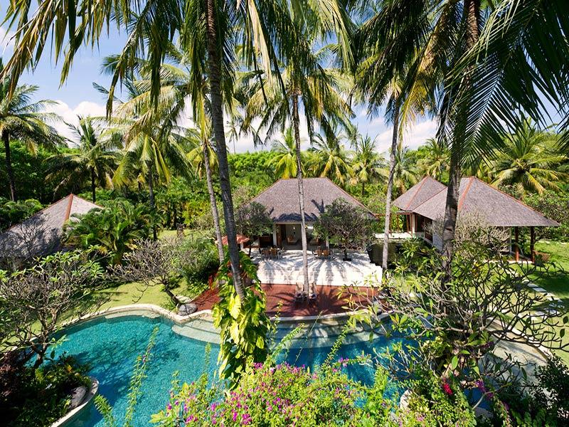 The Anandita - Elevated view of villa - The Anandita - an elite haven - Tanjung - rentals