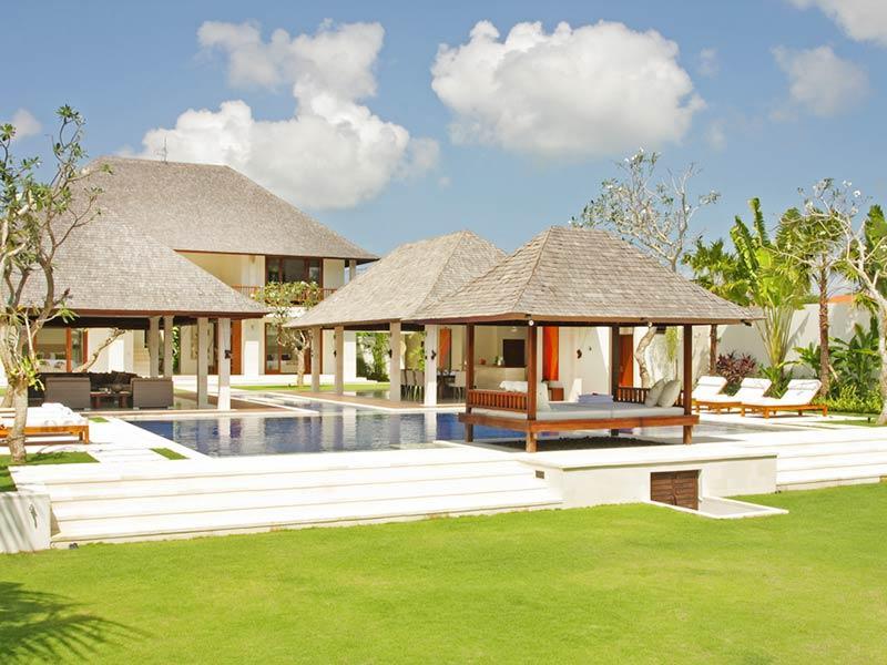 Villa Asante - Overview from the lawn - Villa Asante - an elite haven - Canggu - rentals