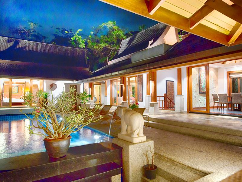 Baan Surin Sawan - View to main villa - Baan Surin Sawan - an elite haven - Surin - rentals