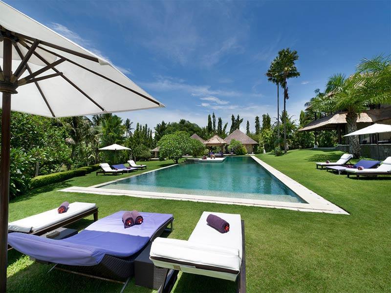 Chalina Estate - Pool garden and sun loungers - The Chalina Estate - an elite haven - Canggu - rentals