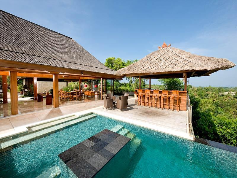 Indah Manis - Pool looking west - Indah Manis - an elite haven - Bukit - rentals