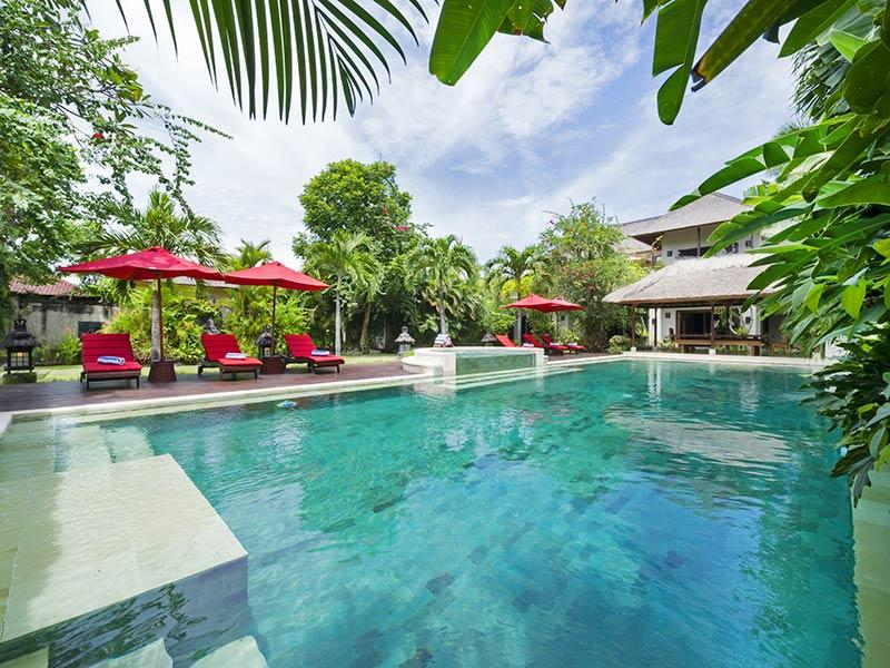 Villa Kalimaya I - View over the pool - Villa Kalimaya I - an elite haven - Seminyak - rentals