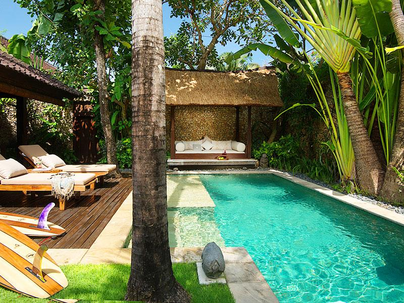 Villa Kubu 10 - Pool and deck - Villa Kubu 10 - Seminyak - rentals