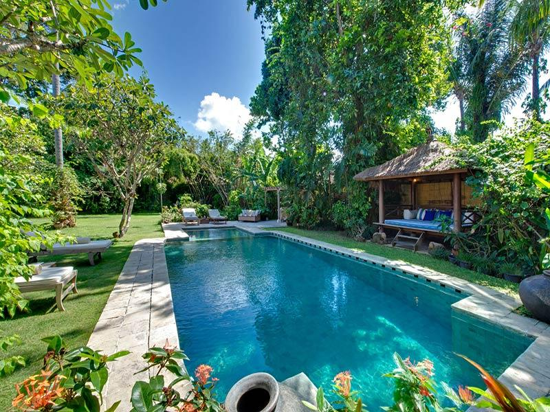 Orchard House - Pool bale and sun loungers - The Orchard House - an elite haven - Seminyak - rentals