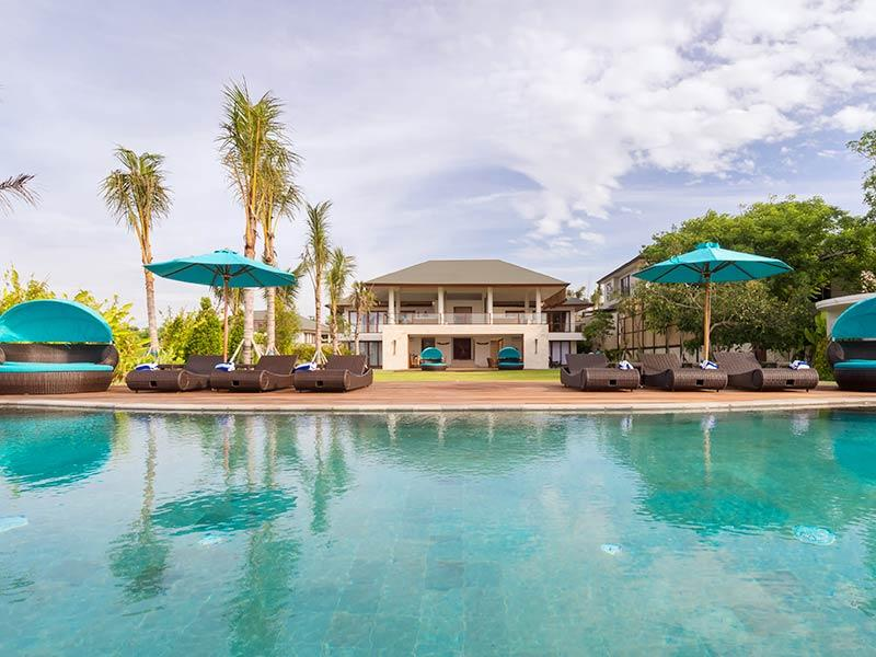 Villa Rose - Villa view from pool - Villa Rose - an elite haven - Ungasan - rentals