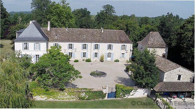 Charming Period Chateau with Tennis Court and Pool FRMD109 - - Image 1 - Bouniagues - rentals