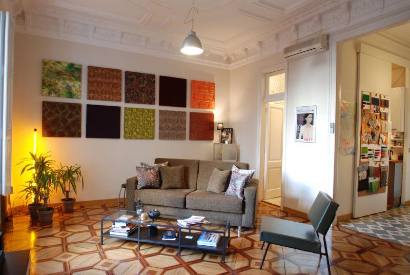 old world charm and character - ATELIER simple elegance (covered terraced) - Barcelona - rentals
