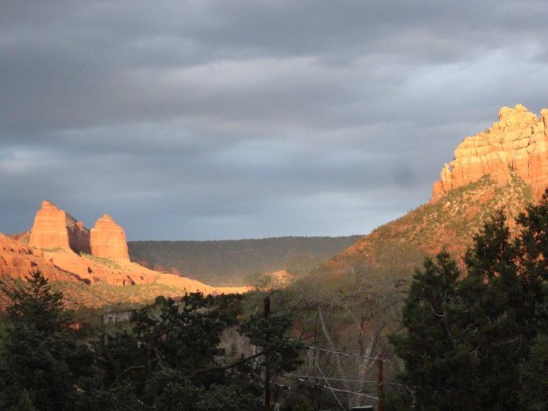 Beautiful view from the deck - Sedona Cabin, Perfect Views, Near Art & Dining - Sedona - rentals