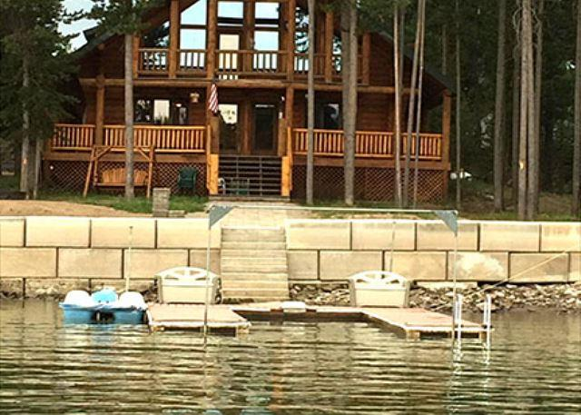 Knotty Pint Lodge - Knotty Pine Lodge is waterfront on the Island Park Reservoir - Island Park - rentals