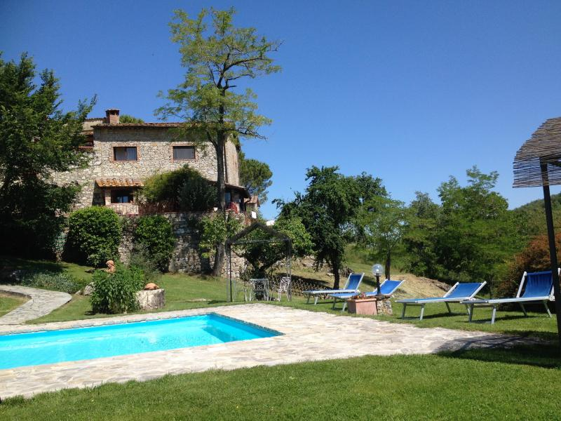 """la Tana"" - on ground floor - Authentic 3 Bedroom Farmhouse - Castellina In Chianti - rentals"